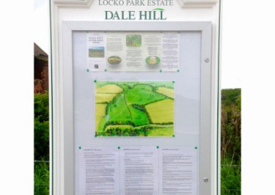 Notice Board on site